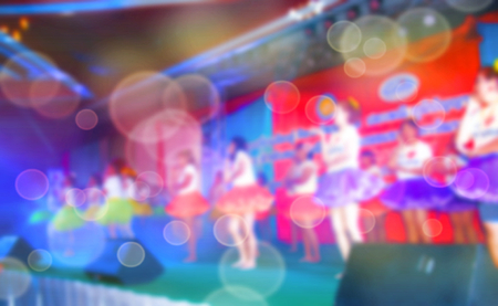 Abstract blurred background Entertainment Concert Stock Photo