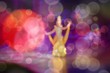 Abstract and blurred background Entertainment Cabaret shows