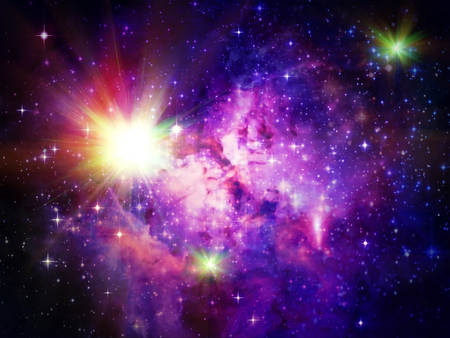 Abstract and background Outer Deep Space of the galaxy