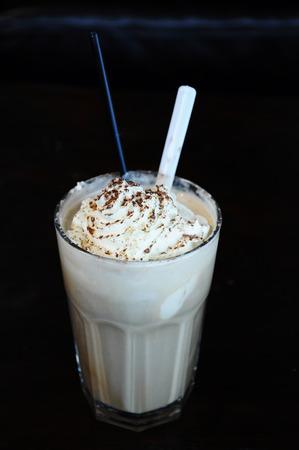 iced coffee: Australian style iced coffee Stock Photo