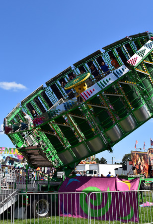 Gravity ride at a carnival