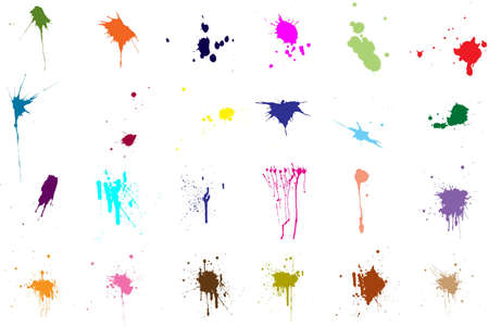 suffusion: Multicolored bright blotches of different types