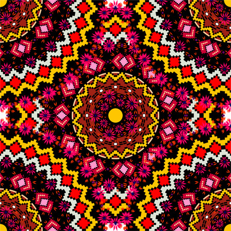 royal safari: Abstract Ethnic Ornate Background For Design