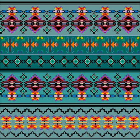 blanket: Ethnic geometric print. Colorful repeating background texture. Fabric, cloth design, wallpaper