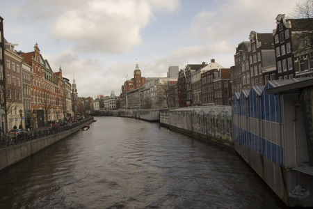 katherine: The Singel canal in Amsterdam