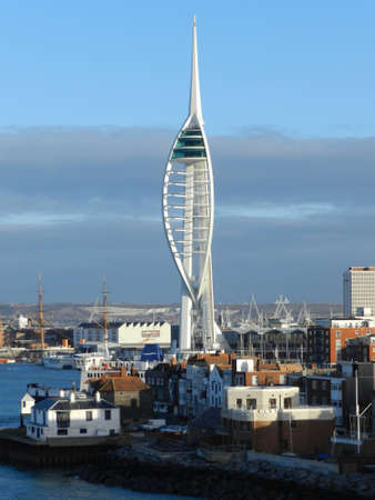 portsmouth: Spinnaker Tower and Old Town Editorial