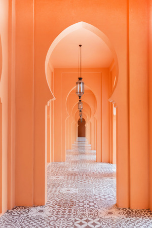 frontage: walkway moroccan style decor