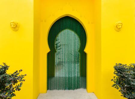 puerta: Pasarela decoraci�n de estilo marroqu�