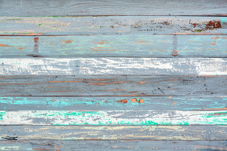 vintage timber: Old painted wood textured background