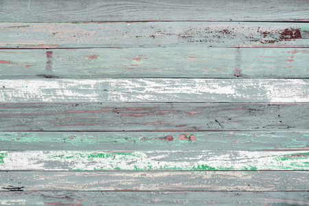 painted wood: Old painted wood textured background
