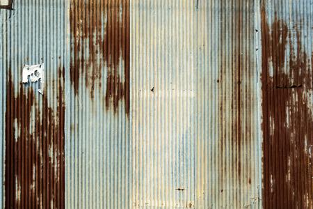 rostiges Wellblech Metall Textur und Hintergrund