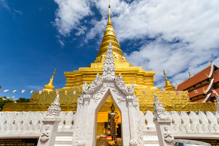 thailand art: Wat Phra That Chae Haeng in Nan, Thailand