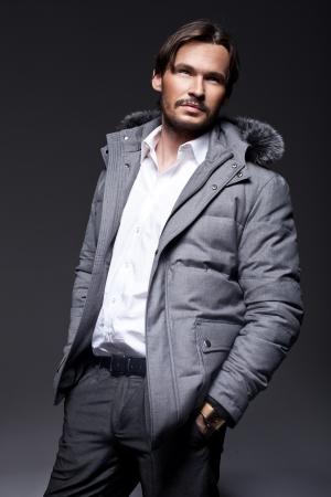 vogue style: Handsome man