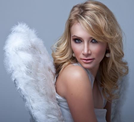 dark blond: Beautiful blonde angel