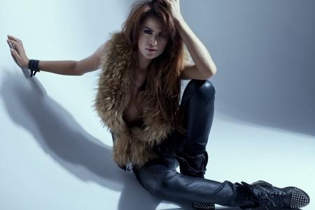 fashion shoot: Fashion shoot of young sexy woman