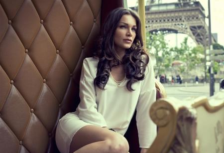 Genç güzel kadın Stock Photo