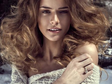 make love: Sensual woman Stock Photo