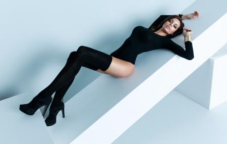 mujer sexy: Mujer sexy con cuerpo perfecto