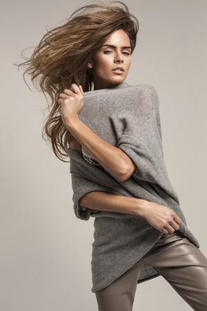 fashion shoot: Fashion shoot of beautiful woman