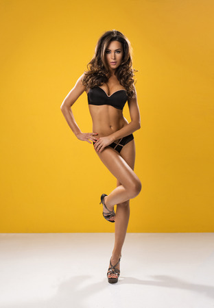 Sexy brunette woman  photo