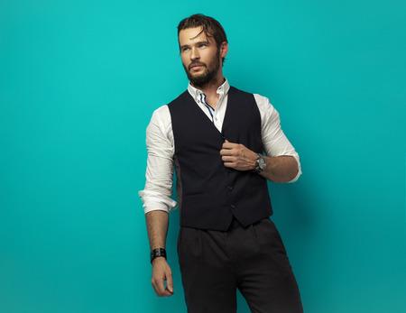 watches: Handsome man