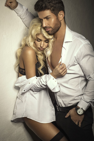 Beautiful romantic couple photo