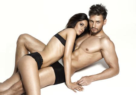 sexo pareja joven: Hermosa pareja sexy