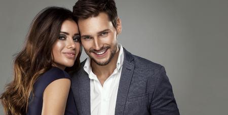 Portrét atraktivní páru Reklamní fotografie