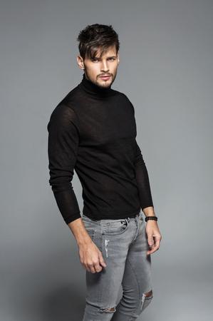 Fashion model posing