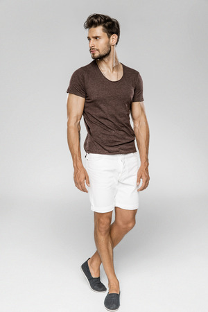 Handsome male model