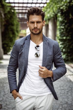 Portrait of handsome man Zdjęcie Seryjne