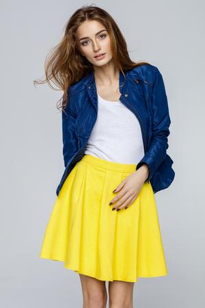 Beautiful female model