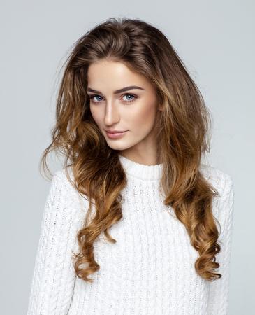 아름다운 여성 모델
