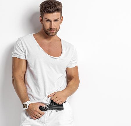 섹시한 남자 스톡 콘텐츠 - 84918845