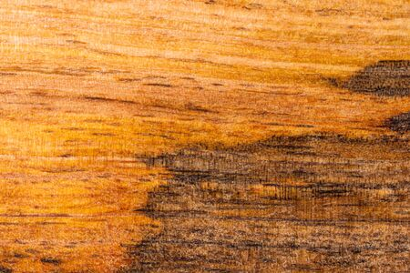 wooden kitchen cutting board, two-color texture, background, close-up