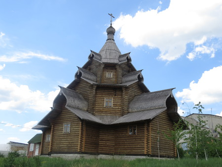 love dome: Ancient Russian Orthodox Church, built of wood.