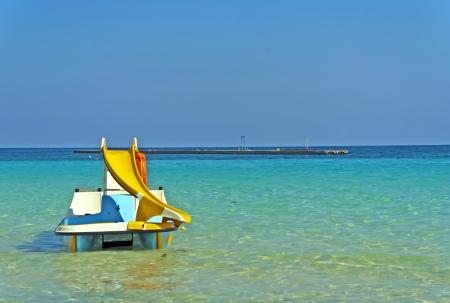 Bathing in the Mediterranean
