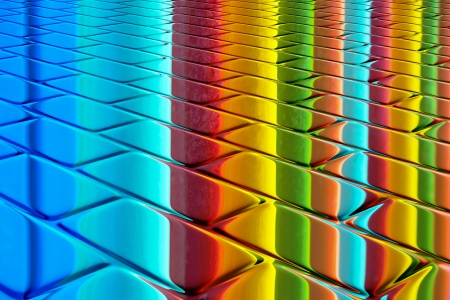 clinker tile: colores del prisma