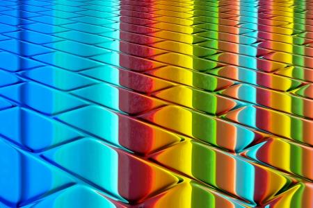 clinker tile: prismatic colors
