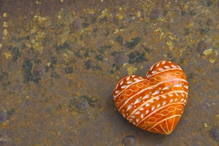 Stone Heart Stock Photo - 17636700