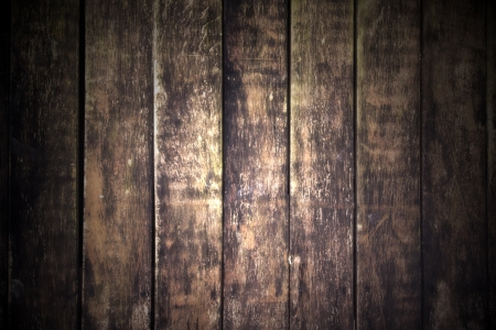 outworn: Old wooden wall - An old outworn wooden wall