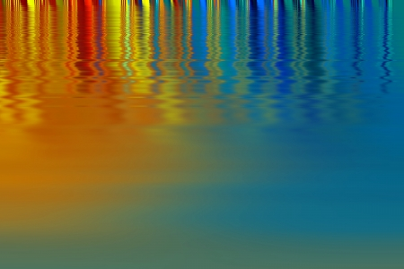 brilliant colors - Rainbow colors on a glossy surface  Abstract design