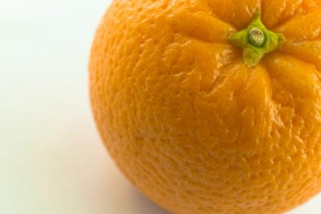 Orange fruit - An close-up of an orange fruit