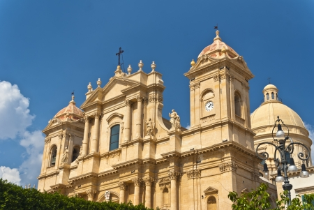 World Cultural Heritage Noto   Stock Photo