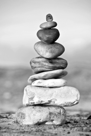 adroitness: Balance - A tower of stacked stones