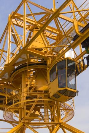 Crane - The cab of a large crane