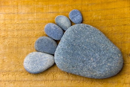 flatfoot: Stonefoot I  - A foot made of pebbles