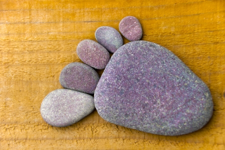 flatfoot: Stonefoot V  - A foot made of pebbles