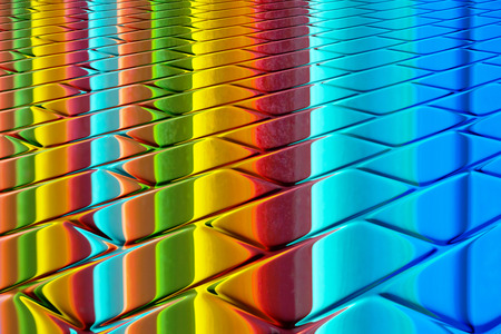 brilliant colors: Brilliant colors - Rainbow colors on a glossy surface  Abstract design