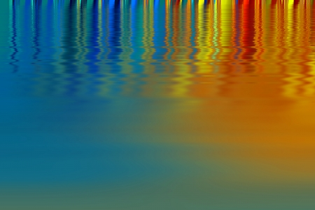 Brilliant colors - Rainbow colors on a glossy surface  Abstract design  photo